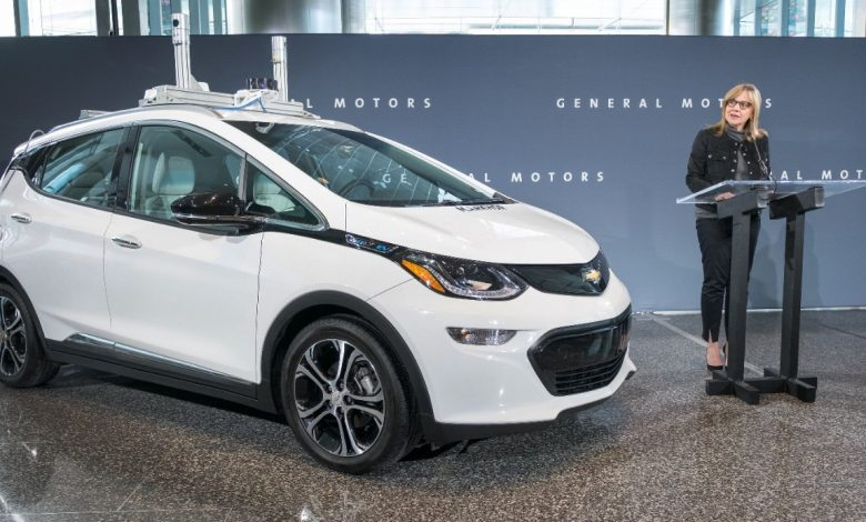 Autovehicul GM autonom modificat pentru testare